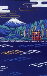 神奈川 箱根神社 御朱印帳(うら)