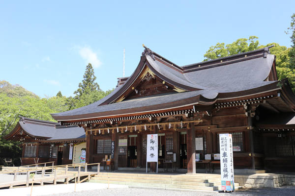 愛知 砥鹿神社(里宮)