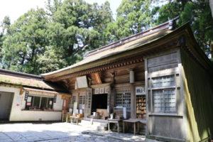愛知 砥鹿神社(奥宮)
