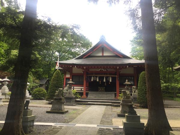 山梨 山中浅間神社