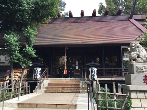 東京 高円寺氷川神社