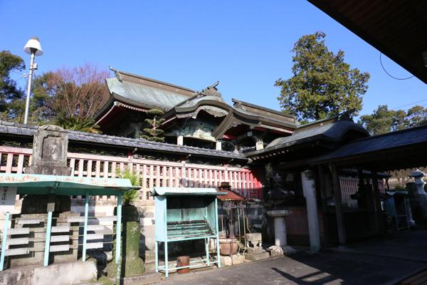 熊本 本妙寺 浄池廟本殿(じょうちびょうほんでん)
