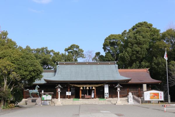 熊本 熊本県護国神社