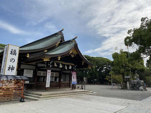 愛知 眞清田神社