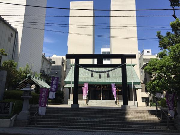 静岡 城岡神社