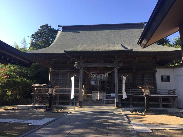 宮城 羽黒山鳥屋神社