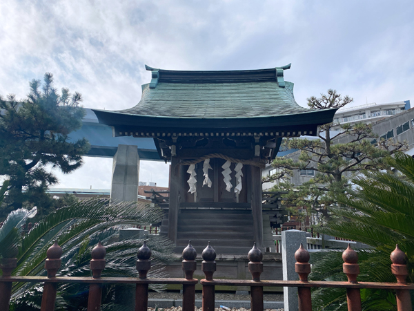 神奈川 琵琶島神社