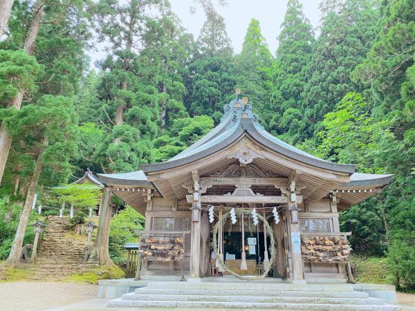 秋田 真山神社